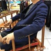 秋冬男士時尚中長款毛呢大衣外套1472 伊衫風尚