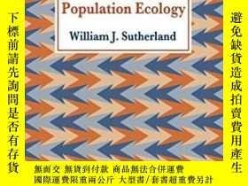 二手書博民逛書店From罕見Individual Behaviour To Population EcologyY364682