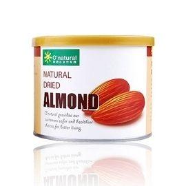 O'natural 歐納丘 美國加州杏仁果原味190g     12罐