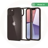 【南紡購物中心】〔Spigen〕iPhone 13 Ultra Hybrid-防摔保護殼-霧黑