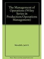 二手書博民逛書店《The management of operations》 R