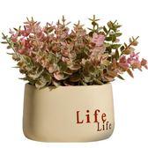 人造花 ins綠植北歐假草盆栽仿真植物裝飾室內花卉盆景小擺件客廳窗台 芭蕾朵朵