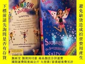 二手書博民逛書店samantha罕見the swimming fairy 遊泳仙女薩曼莎Y200392