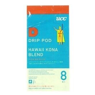 金時代書香咖啡 UCC【即期品】 DRIP-POD 夏威夷可娜膠囊(7.5g8p)1包 UC75-8KO