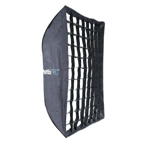 ◎相機專家◎ Phottix Pro 網格 易折疊 簡易 折傘式 柔光箱 無影罩 60x90cm 公司貨 82494