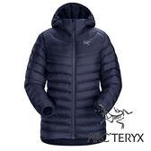【Arc'teryx 始祖鳥】女頂級歐洲白鵝絨羽絨外套(膨脹係數850.修身版型.超輕)『黑寶石』L06920