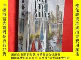 二手書博民逛書店When罕見Fate Smiles: a likely stor