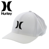 Hurley M HRLY DF OAO HAT WHITE/BL-WHT-CG-CRED 棒球帽-(男)