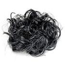 【頭髮增量】假髮甜甜圈(具鬆緊帶可綁) 黑色 [88575]