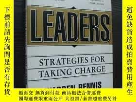 二手書博民逛書店LEADERS:Strategies罕見for taking c