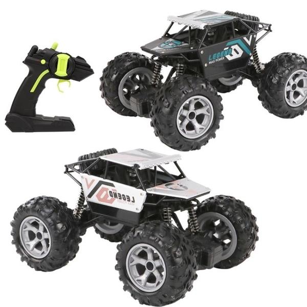 合金遙控越野玩具汽車充電動比賽汽車高速攀爬車兒童男孩  野外俱樂部