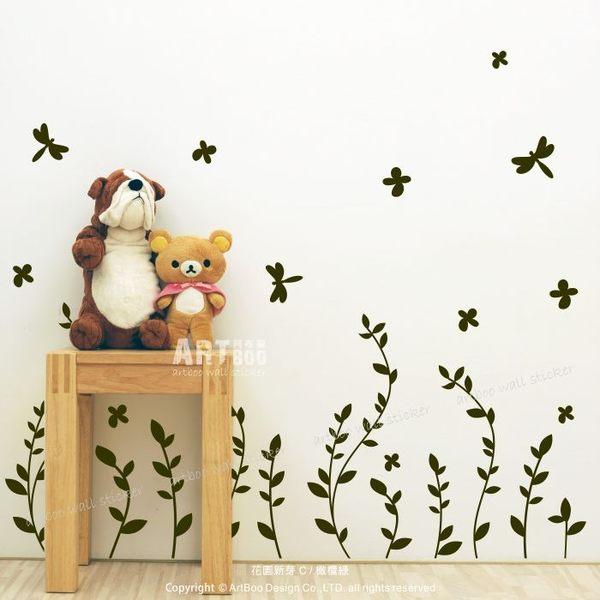 ☆阿布屋壁貼☆花園新芽 C  -M尺寸 壁貼
