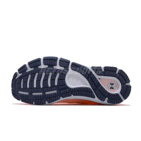 Under Armour UA 慢跑鞋 W HOVR Sonic 3 橘 灰 女鞋 運動鞋 【ACS】 3022596601