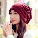 帽子女士春秋季時尚包頭帽防風透氣月子帽頭巾秋冬保暖光頭化療帽 店慶降價