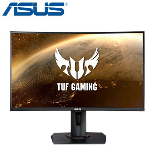 ASUS 華碩 TUF GAMING VG27WQ FreeSync 27型 2K 165Hz 1ms VA曲面電競螢幕 顯示器