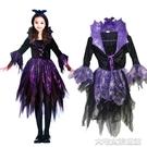 萬聖節衣服萬聖節女孩cos服裝兒童演出服飾女童蝙蝠吸血鬼衣服吧啦啦小魔仙 快速出貨