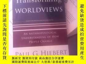 二手書博民逛書店Transforming罕見worldviewsY21714 P