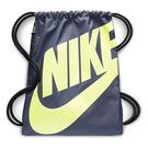 Nike- 巴西利亞運動後背袋 (季風藍色)
