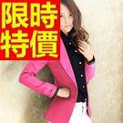 女休閒西裝外套-典型高貴熱銷韓版女外套7色54a8【巴黎精品】