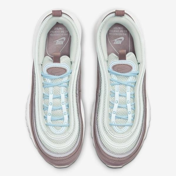 Nike Air Max 97 奶茶色 白色 水藍 奶茶 氣墊 反光 球鞋 921733-018