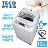 TECO 東元 定頻單槽洗衣機 12公斤 W1209UN 首豐家電