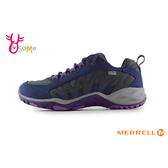 MERRELL 成人女款 DRY防水系統 GRIP耐磨大底 戶外登山運動鞋_ML99614 H8395#灰紫◆OSOME奧森鞋業