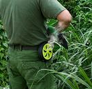 可調式帶扣環蚊香器 攜帶式蚊香盒 (不挑色) KN7911