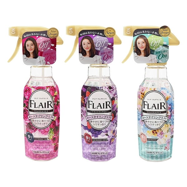 花王 FLAIR Fragrance衣物防皺芳香噴霧(270ml) 3款可選【小三美日】