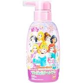 〔小禮堂〕迪士尼 公主 日製瓶裝兒童洗髮精《粉紫.鑽石》300ml.洗髮乳 4549660-04525