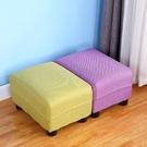 實木小凳子客廳家用小板凳沙髮換鞋凳布藝矮凳榻榻米凳兒童小凳子