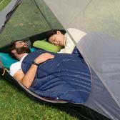 睡袋Naturehike挪客戶外被子冬季保暖睡袋成人便攜式露營旅行隔臟睡袋摩可美家