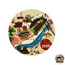 【收藏天地】台灣紀念品*神奇的陶瓷吸水杯墊-大樹姑山倉庫∕馬克杯 送禮 文創 風景 觀光  禮品