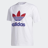 Adidas Originals TREFOIL 男裝 短袖 T恤 休閒 三葉草 棉質 白【運動世界】GL5130