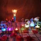 數字電子蠟燭LED電子燈 七彩燈