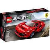 【LEGO樂高】SPEED CHAMPIONS 系列 - Ferrari F8 Tributo  #76895