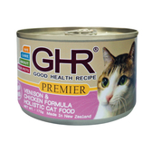 【同系列.買二送一】GHR貓用無穀主食罐鹿肉雞肉配方175g