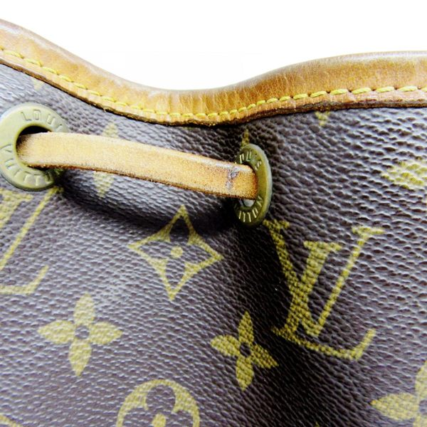 LV LOUIS VUITTON 路易威登 原花肩背小水桶包 Petit Noe M42226【二手名牌BRAND OFF】