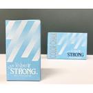 STRONG 自強牌 彩色粉筆 藍色 40支入