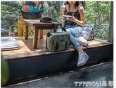 相機包 單反斜背復古迷你微單包便攜尼康防水攝影包側背女帆布  限時搶購