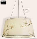 INPHIC- 北歐風格現代創意簡約臥室書房餐廳單頭木布藝燈罩個性吊燈-H款_S197C
