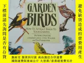 二手書博民逛書店Garden罕見Birds: How To Attract Bi