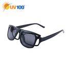 UV100 防曬 抗UV Polarized夾掛式眼鏡-時尚經典
