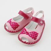 【愛的世界】蝴蝶結寶寶鞋/學步鞋-台灣製- ★童鞋童襪