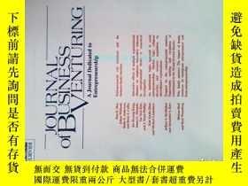 二手書博民逛書店Journal罕見of Business Venturing (Journal)11 2017 創業商業冒險Y