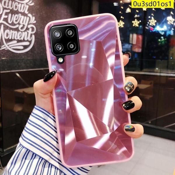 鐳射菱格三星M12手機殼三星m12保護殼Samsung Galaxy M12手機殼 全包防摔殼 三星 m12手機殼