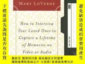 二手書博民逛書店Touching罕見Tomorrow: How to Interview Your Loved Ones to C