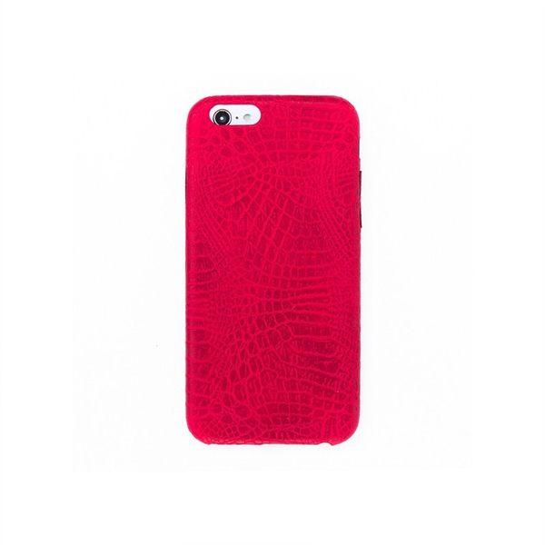 iPhone手機殼 高質感多彩防滑 鱷魚皮紋硬偏軟殼 蘋果iPhone7/iPhone6手機殼