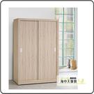 {{ 海中天休閒傢俱廣場 }} G-02 摩登時尚 臥室系列 124-1 原橡色耐磨4x7尺衣櫥