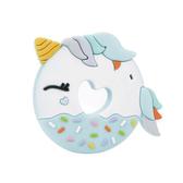 加拿大Loulou lollipop 甜甜圈獨角獸固齒器飛天藍