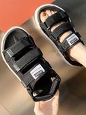 男士涼鞋夏季拖鞋男時尚沙灘兩用情侶一字外穿2020新款越南涼拖潮 糖糖女屋